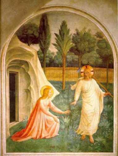 Fra Angelico: Noli me tangere