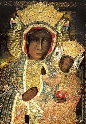 Maryja w wizerunku jasnogórskim - Królowa Polski