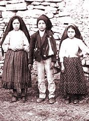 Trójka dzieci z Fatimy: Hiacynta, Franciszek i Łucja