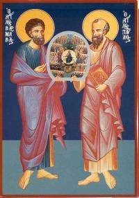 Święci Apostołowie Barnaba i Paweł