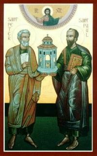 Święci Piotr i Paweł - książęta Kościoła