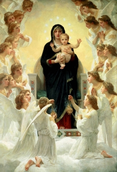 Ikona Matki Bożej - Królowej Aniołów