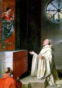 Znalezione obrazy dla zapytania św. Bernard