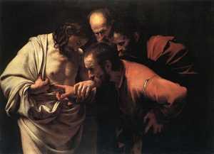 Caravaggio: Niedowiarek Tomasz
